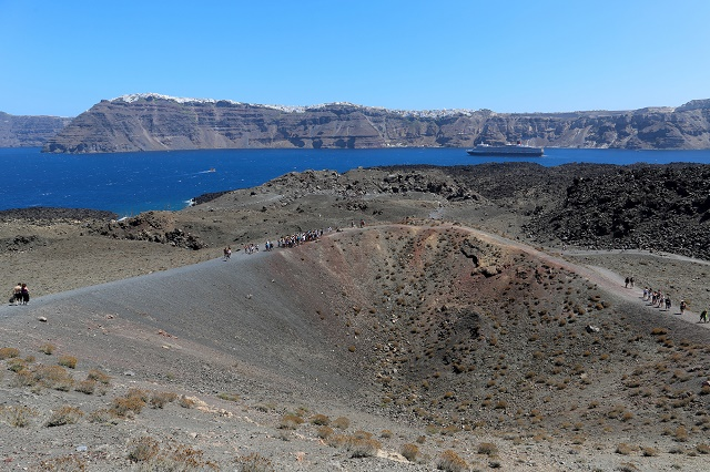 Vulcão Santorini