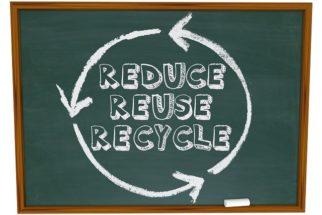 Os 3 R's da sustentabilidade