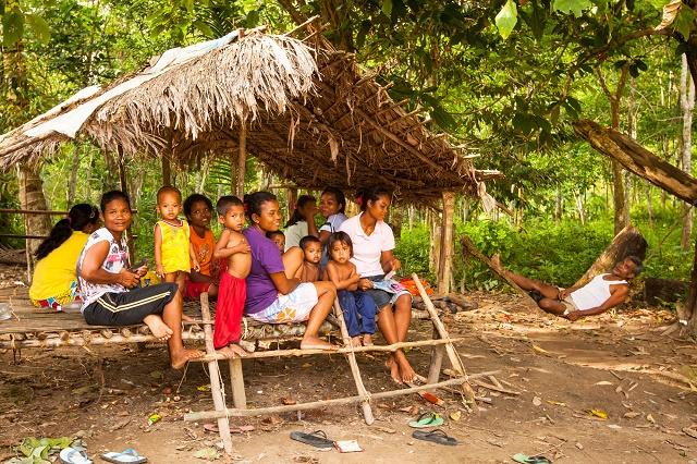 Grupo de indígenas