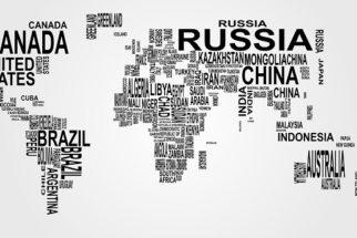 Nome dos países em inglês