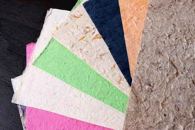 Tipos de papéis reciclados